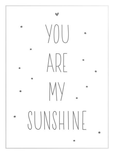 Bild YOU ARE MY SUNSHINE
