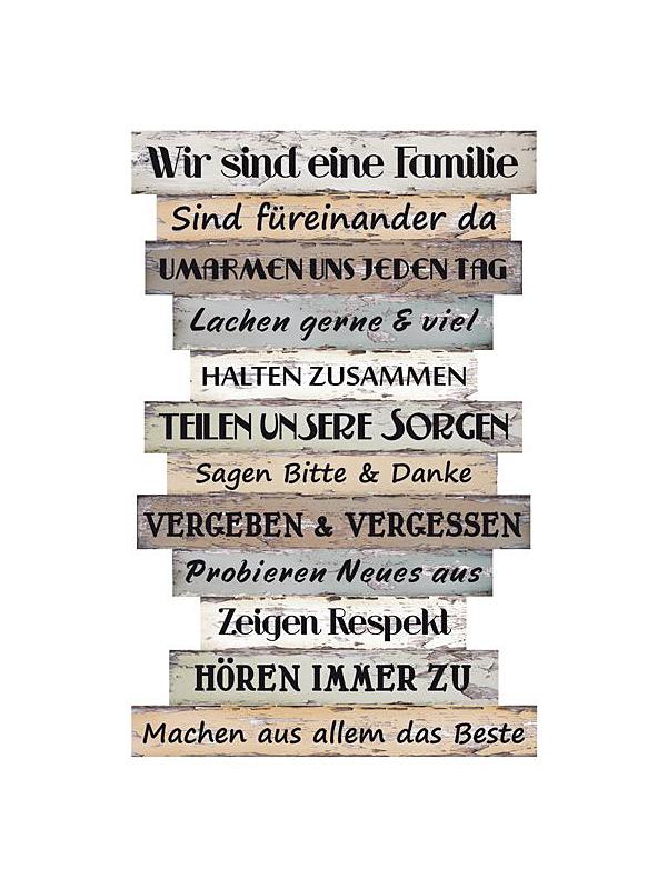 Bild Familienregeln