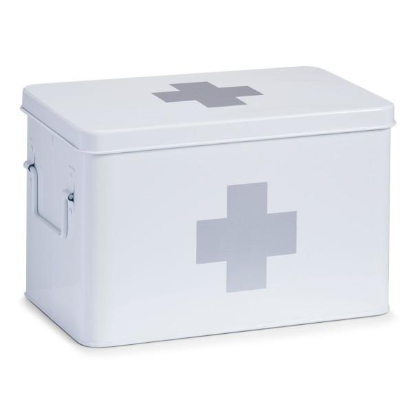 Medizinbox CROSS weiß