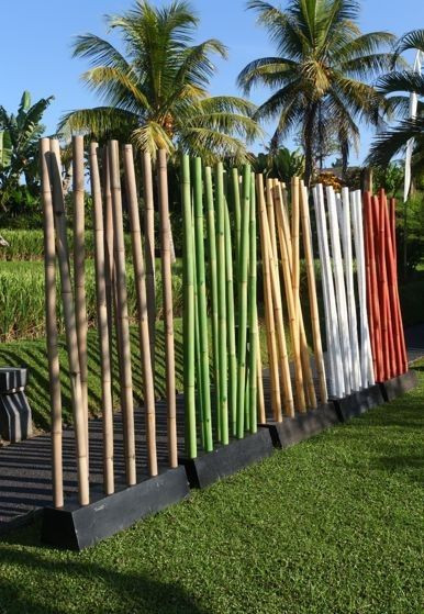 Paravent BAMBOO