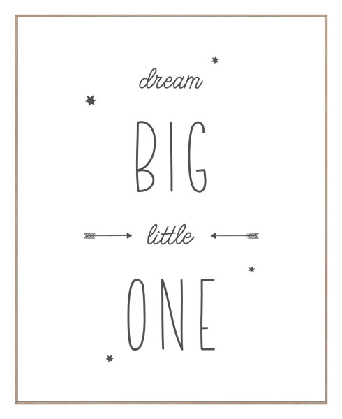 Bild DREAM BIG LITTLE ONE