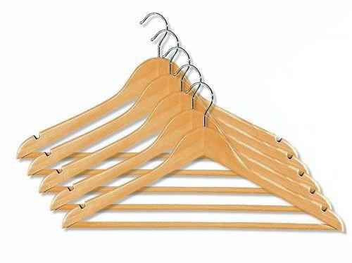 Kleiderbügel BASIC, Naturholz