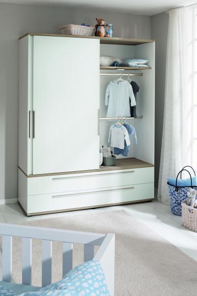 Kleiderschrank CARLO -schmal-