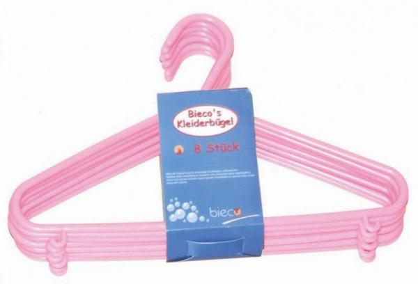 Kinder-Kleiderbügel-Set rosa