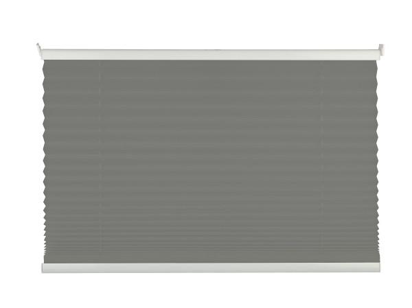 Plissee FREE grau 120x130cm
