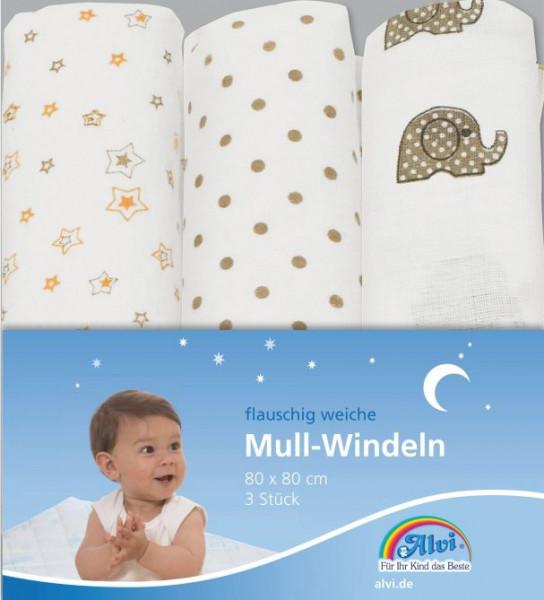 Mull-Windeln